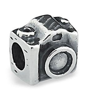 Berloque Máquina Fotográfica em Prata 925 - Linha Dreams