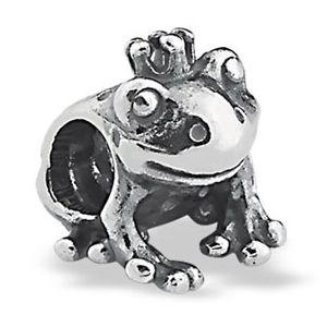 Berloque Príncipe Sapo em Prata 925  - Linha Dreams