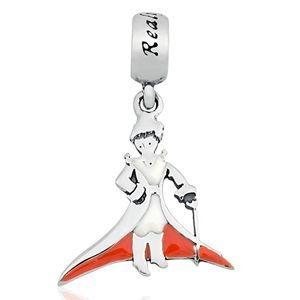 Berloque Pequeno Príncipe em Prata 925 com Resina - Linha Dreams