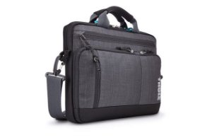 "BOLSA P/ NOTEBOOK THULE STRAVAN MACBOOK DELUXE 15"" ATTACHÉ"