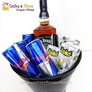 Balde Combo de Whisky Jack Daniels