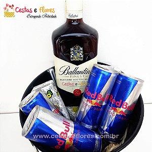 Balde Combo de Whisky Ballantines