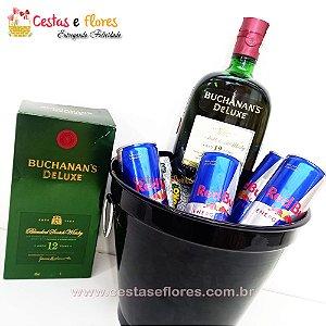 Balde Combo de Whisky Buchanan's de Luxe