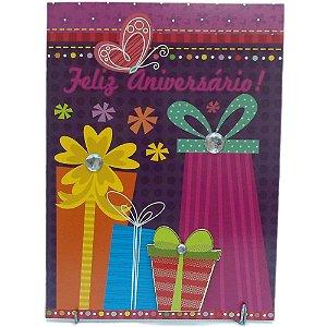 Cartão Aniversário 13x18 - 05