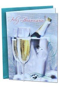Cartão Aniversário Romântico 11x15 - 01