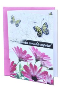 Cartão Aniversário Romântico 11x15 - 03