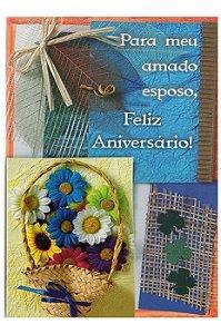 Cartão Aniversário Romântico 11x15 - 05