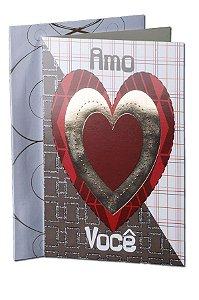 Cartão Amor 11,5 x 17,5  - 01