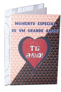 Cartão Amor 11,5 x 17,5  - 05