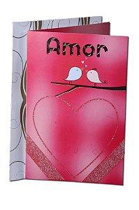 Cartão Amor 11,5 x 17,5  - 09