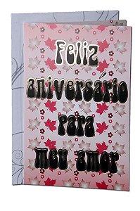 Cartão Aniversário 11,5 x 17,5  - 01