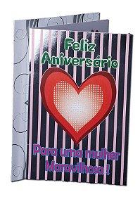 Cartão Aniversário 11,5 x 17,5  - 03