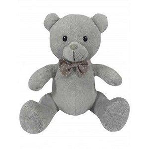 Urso de Pelúcia Cinza