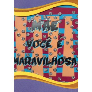 Cartão Dia das MÃES 08 x 11 - 07