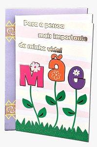 Cartão Dia das MÃES 11x17,5 - 02