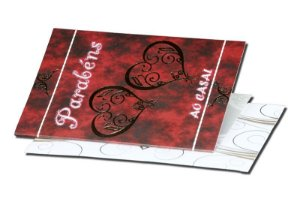 Cartão Casamento e Bodas 7,5 x 11  - 02