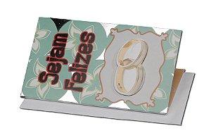 Cartão Casamento e Bodas 7,5 x 11  - 03