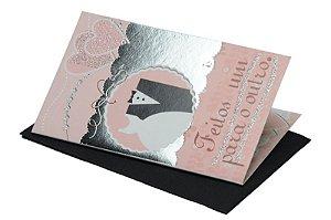 Cartão Casamento e Bodas 7,5 x 11  - 04