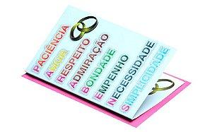 Cartão Casamento e Bodas 7,5 x 11  - 05