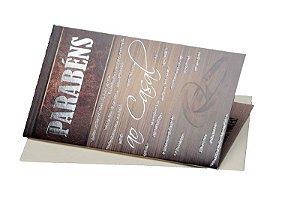 Cartão Casamento e Bodas 7,5 x 11  - 06