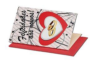 Cartão Casamento e Bodas 7,5 x 11  - 10