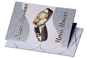 Cartão Casamento e Bodas 7,5 x 11  - 15