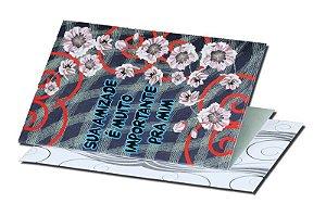 Cartão Amizade 7,5 x 11  - 01