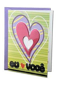 Cartão Amor 11 x 15,5  - 01