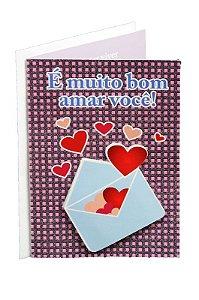 Cartão Amor 11 x 15,5  - 03
