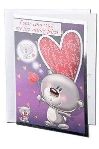Cartão Amor 11 x 15,5  - 09