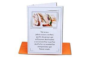 Cartão Amor 11 x 15,5  - 10