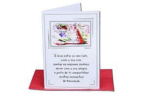 Cartão Amor 11 x 15,5  - 11