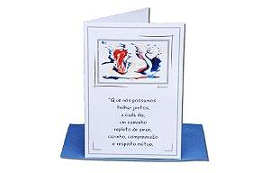 Cartão Amor - 11 x 15,5 - 12