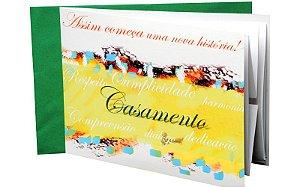 Cartão Casamento - 21,6 x 15,8 - 01