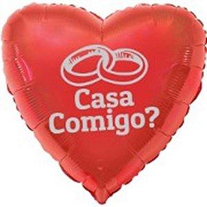 Balão Gás Hélio CASA COMIGO