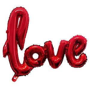 Balão Gás Hélio LOVE