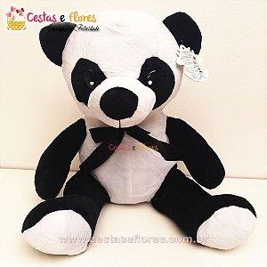 Urso de Pelúcia Panda - 30 cm Altura