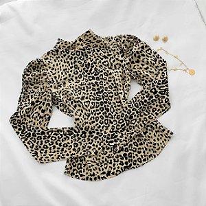 Camisa animal print