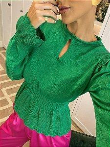 Blusa Em Modal Thainara Verde