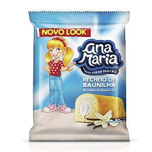 Bolo de Baunilha Ana Maria 80g