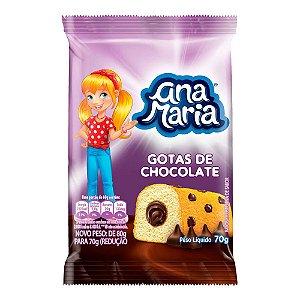 BOLO COM GOTAS DE CHOCOLATE ANA MARIA 70G