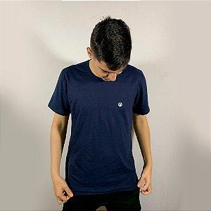 Camiseta CORTUBA de Algodão Básica - Azul