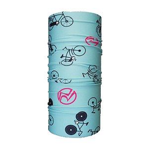 Bandana Tubular EcoHead RZ - Bike Azul