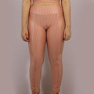 Calça Legging Amarilis 3D - Nude