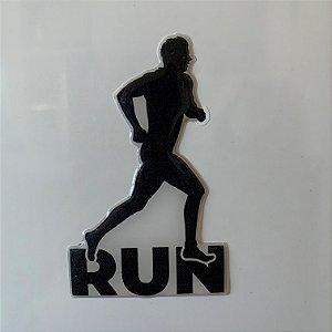 Adesivo Resinado 3D - Atleta Run - Masculino