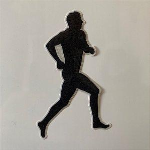 Adesivo Resinado 3D - Atleta - Masculino