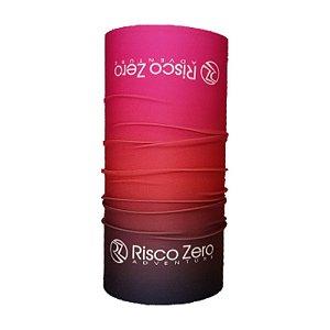 Bandana Tubular EcoHead RZ - Spring Degradê Preto Rosa