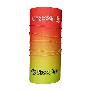 Bandana Tubular EcoHead RZ - Spring Degradê Verde Laranja