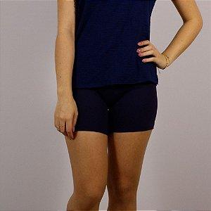 Short Suplex Poliamida Lisa - Azul Marinho