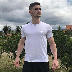 Camiseta Básica Algodão Premium CORTUBA - Branca